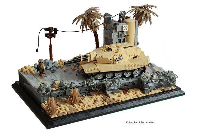 Lego TankLego Army Tank