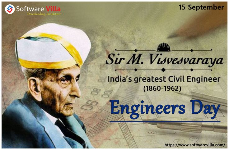 Tributes on #EngineersDay to Late M. Visvesvaraya, an eminent engineer & philanthropist and greetings to all engineers.