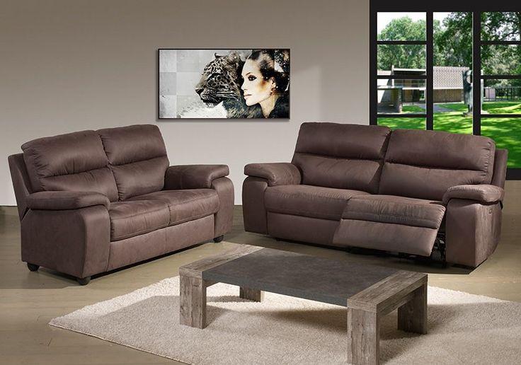 Conçu pour vous aider à vous reposer, cet ensemble de canapés 3 places relax + 2 places fixes vous apportera entière satisfaction en terme de plaisir et de confort.