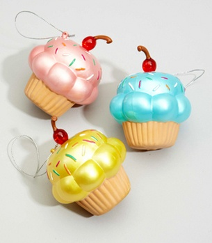 : Cupcake Ornaments, Cupcakes Galore, Cupcake Stuff, Things Cupcakes, Vintage Cupcake, Christmas Ornaments