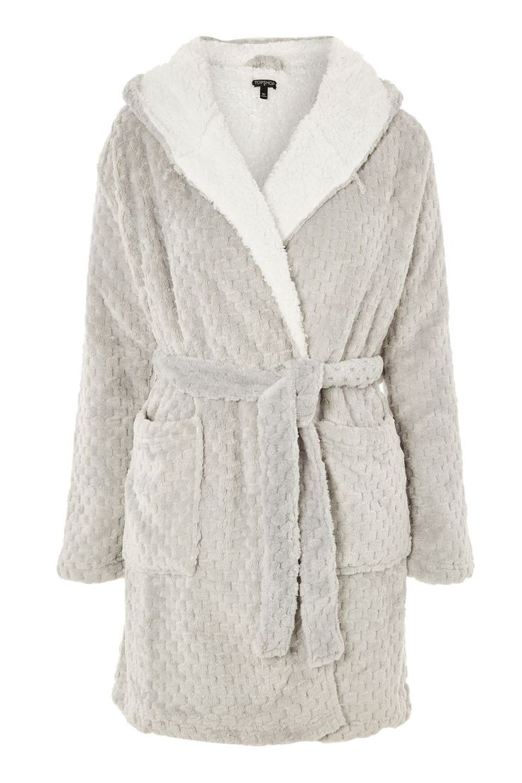 Size Small; Patterned Dressing Gown - Topshop USA