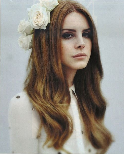 Lana Del Rey - I like her overstyled circa 1962 Hollywood plastic surgery look! Not for me but I admire...