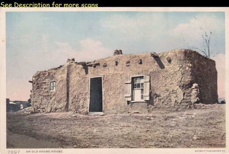 Native american adobe houses search my store for Old american houses