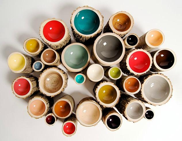 Log Bowls by Loyal Loot: Log Bowls, Wood, Logs, Colors, Loyal Loot, Design, Loyalloot