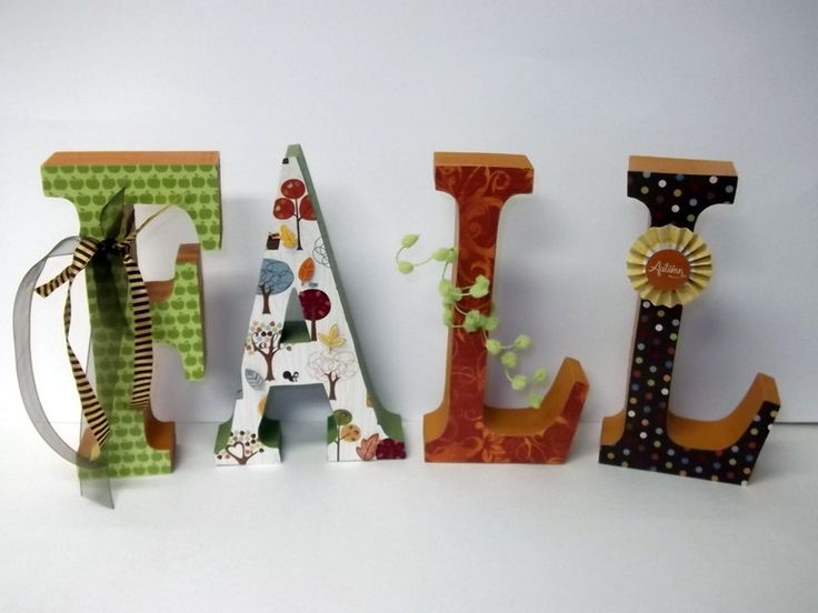 fall wood letters home decor fall decor harvest decor