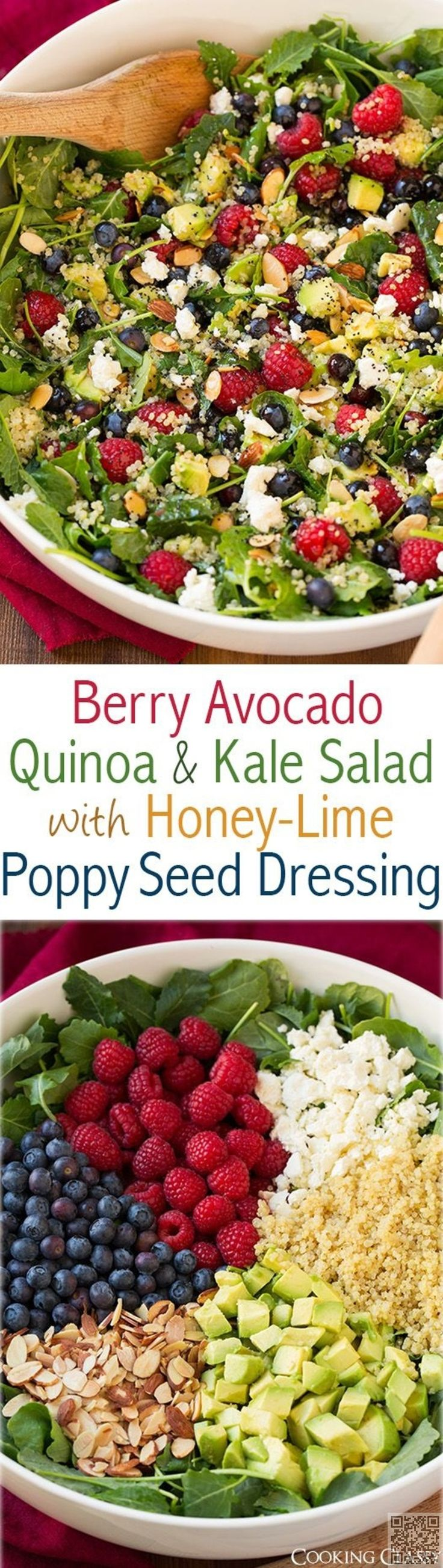 4. #Berry, Avocado, #Quinoa, & Kale Salad - You'll #Probably Swoon over…