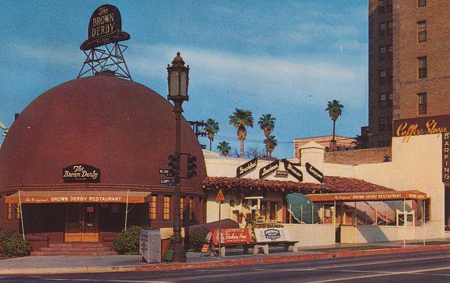 The Brown Derby Restaurant -Wilshire Blvd. Los Angeles, California