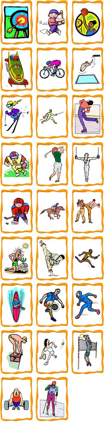 Sports FlashCards Preview