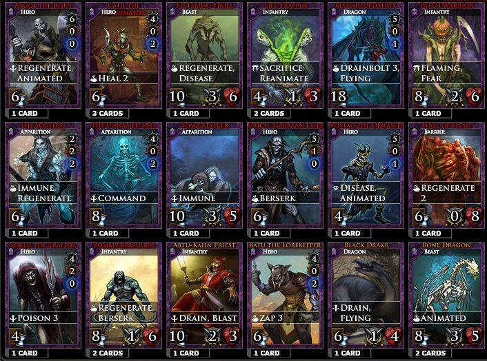 magic war card game online