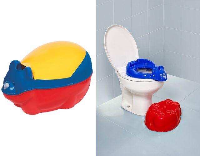 Desfralde completo: adaptador de assento auxilia a criança no uso do vaso sanitário blog Vanessa Freitas