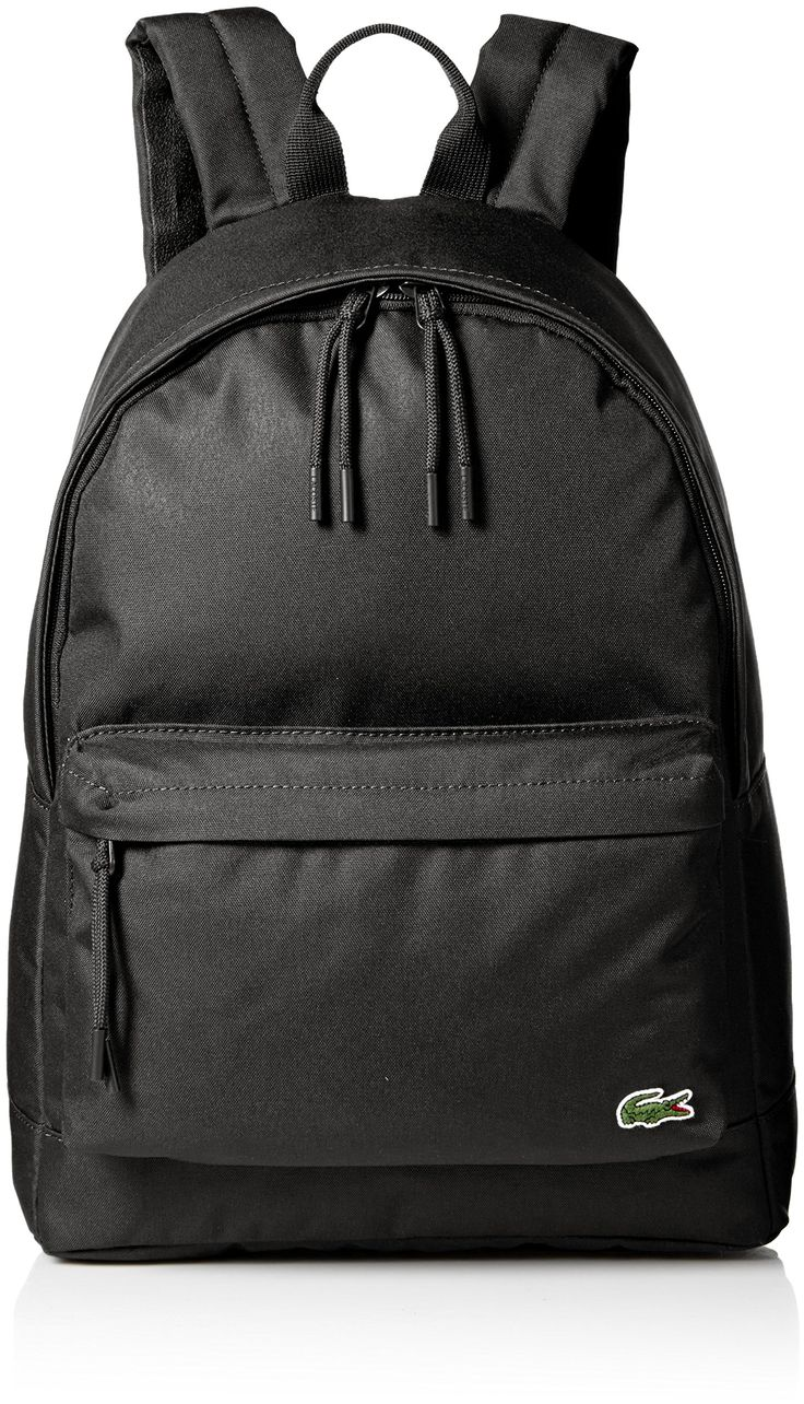 Lacoste Men's Neocroc Backpack, Black