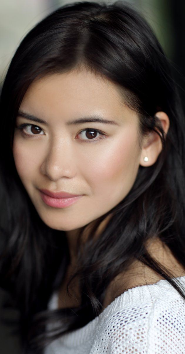 Katie Leung as Cinder in the Lunar Chronicles