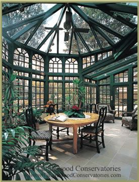Octagonal Conservatory.