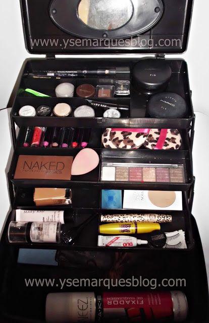 O que deve ter uma Maleta de Maquiagem Profissional