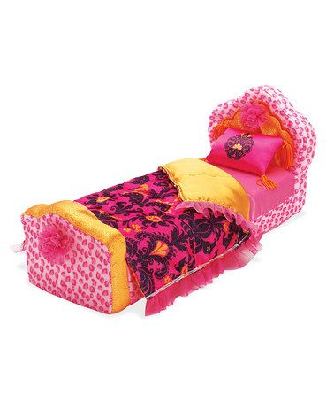Another great find on #zulily! Groovy Girls Royally Ritzy Doll Bed for 13'' Doll by Manhattan Toy #zulilyfinds