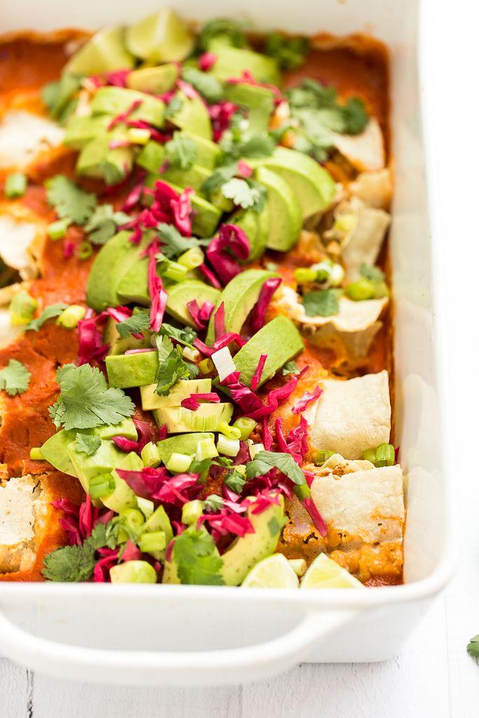 Best Enchiladas vegano de cocina de cada día del panadero minimalista