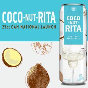 FEB 2017 LAUNCH Bud Light COCO-NUT-RITA #Coconut #MaltBeverage #New #NewFlavor2018 #BudLight