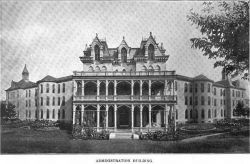 St. Joseph State Hospital for Insane #2, Mo, built in 1872 a massive 275 beds, commonly called , Lunatic Asylum #2, a self effient