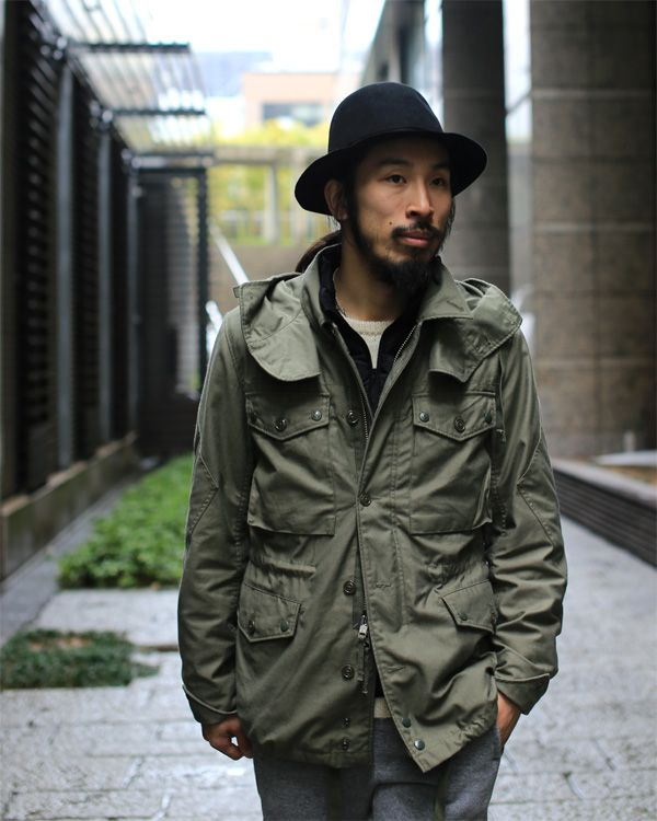 Really nice Engineered Garments parka, I am currently obsessed with EG at the moment.
