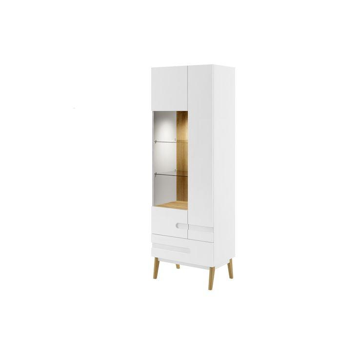 witryna z kolekcji MODENA / glass-case MODENA #modena #furniture #meble #jadalnia #diningroom #interiordesign #design #wnetrza #dignet #dignetlenart #whiteinterior #whitefurniture #bialemeble #lenartdesign #glasscase  #witryna #novelty #newarrival #nowosc