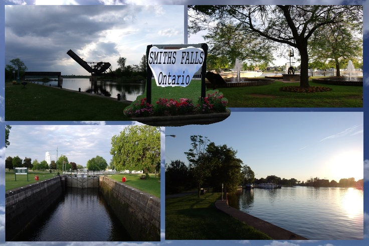 another Photo-Collage to show more about Smiths Falls