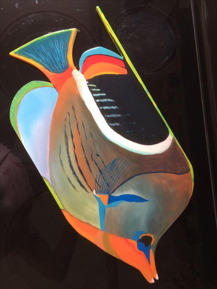 Pez Tearness mariposa