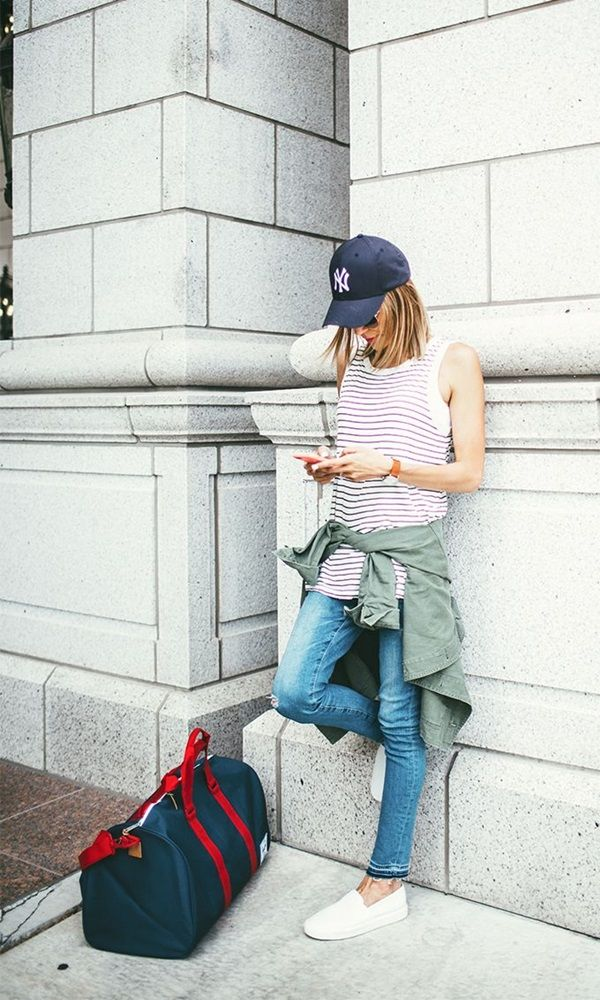 Cool and Easy Road Trip Outfits (41)
