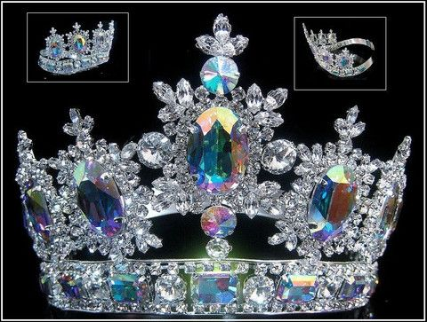 Rhinestone Adjustable Contoured Royal Premium Crown – CrownDesigners