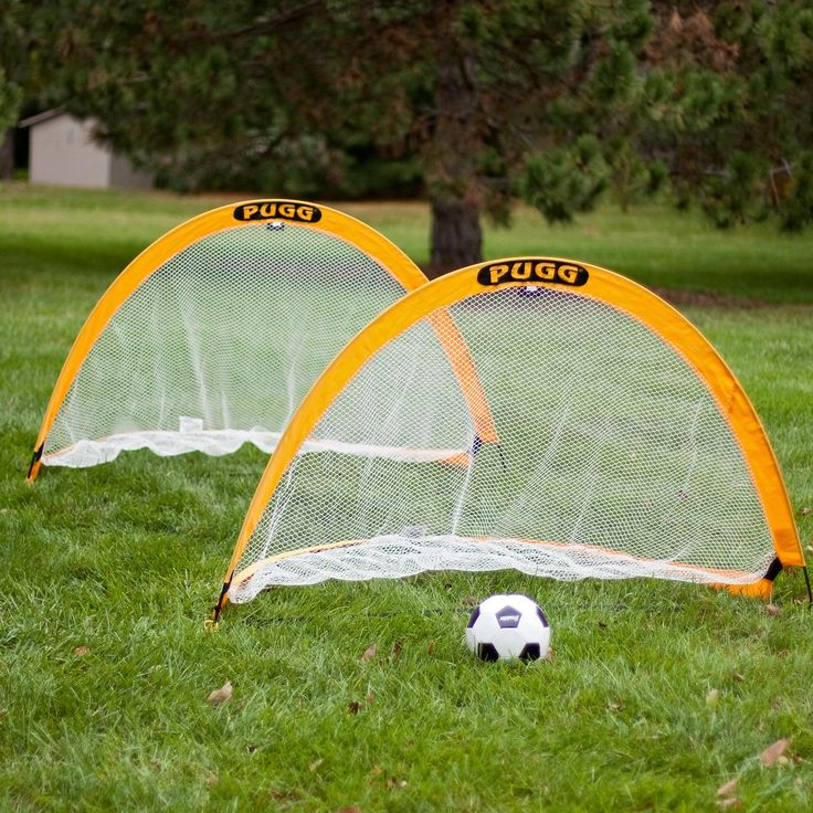 6 ft. PUGG Soccer Goals | from hayneedle.com