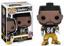 Pre-Order Now! Funko Pop! NFL Steelers Antonio Brown Vinyl Figure #62