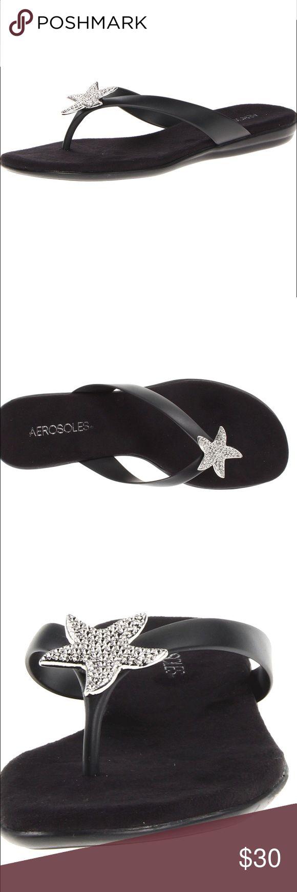 Aerosoles Beach Sandal Super cute nautical sandal. Never worn and in perfect condition ! AEROSOLES Shoes Sandals