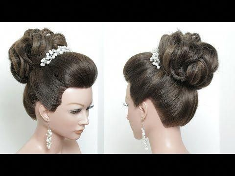 Perfect Bridal Bun. Hair Tutorial. Wedding Updo Hairstyle Step By Step – YouTube…,  #Bridal…