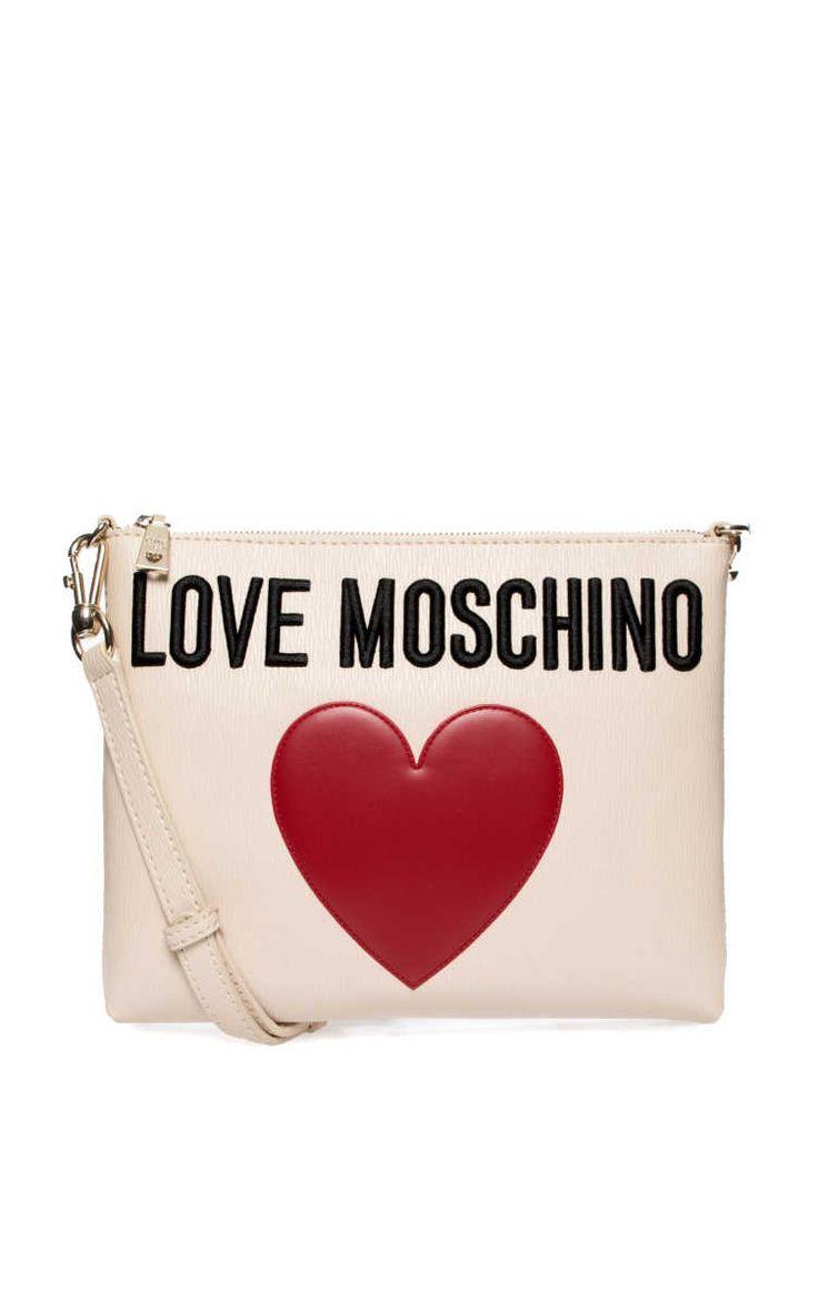 Axelremsväska Crossover-Clutch LATTE - Love Moschino - Designers - Raglady