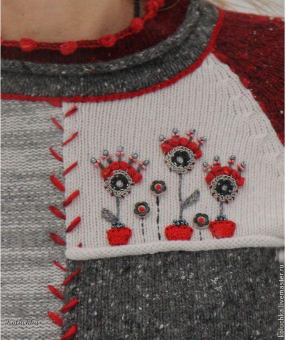 Кофты и свитера ручной работы. Ярмарка Мастеров - ручная работа Декабрь 2014. Handmade.
