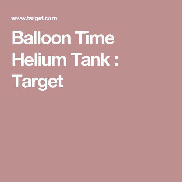 Balloon Time Helium Tank : Target