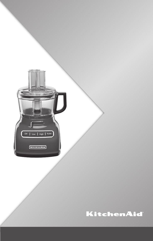 Kitchenaid food processor kfp0722 user guide