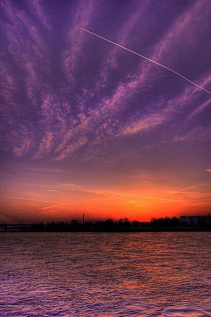 Düsseldorf Sunset, Germany