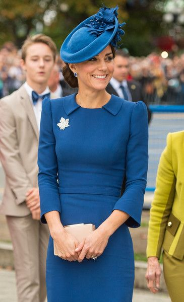 Kate Middleton Photos Photos - Catherine, Duchess of Cambridge attends an official welcome ceremony at the Legislative Assembly of British Columbia at Victoria International Airport on September 24, 2016 in Victoria, Canada. - 2016 Royal Tour to Canada of the Duke and Duchess of Cambridge - Victoria, British Columbia