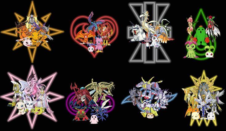 Digimon Season 5 Digivolutions Digimon & their full