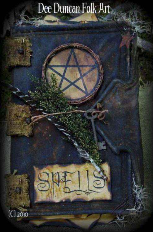 Book of Spells - E-Pattern-Book of Spells - E-Pattern