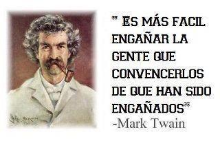 Mark Twain said....a true !!