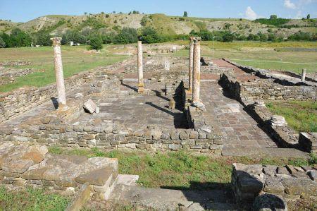 Die Ruinen von Stobi - Ausgrabungen in Mazedonien