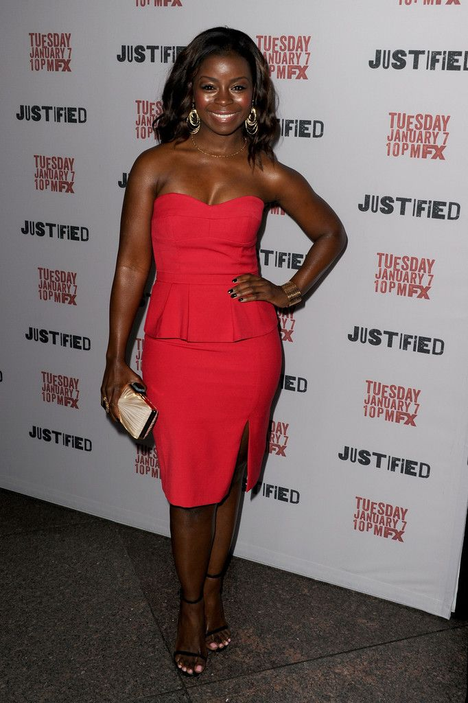 erica-tazel-justified-season-5-premiere-screening-bcbg-penelope-dress