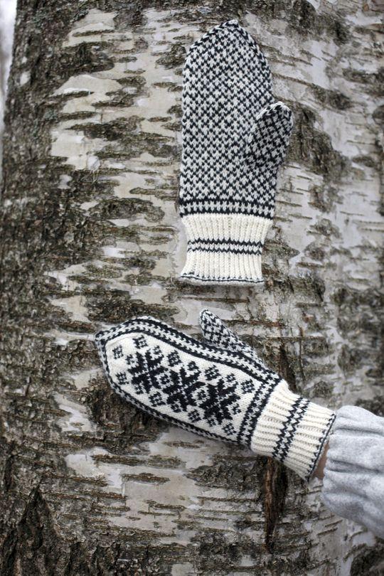 Stjärnvantar Novita Nalle | Novita knits