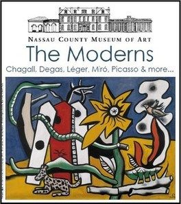 Celebrating 'The Moderns' with exhibitions at Nassau County Museum of Art | weberlifedesignspeaks.com