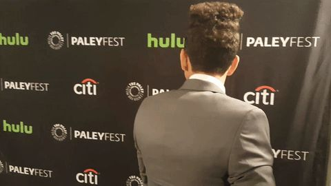 New party member! Tags: starz paleyfest paleyfest previews paley center ray santiago ash vs the evil dead creepy smile