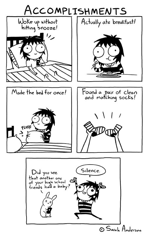 sarahseeandersen:  I'm trying.   It's a lot easier to get pregnant than it is to…