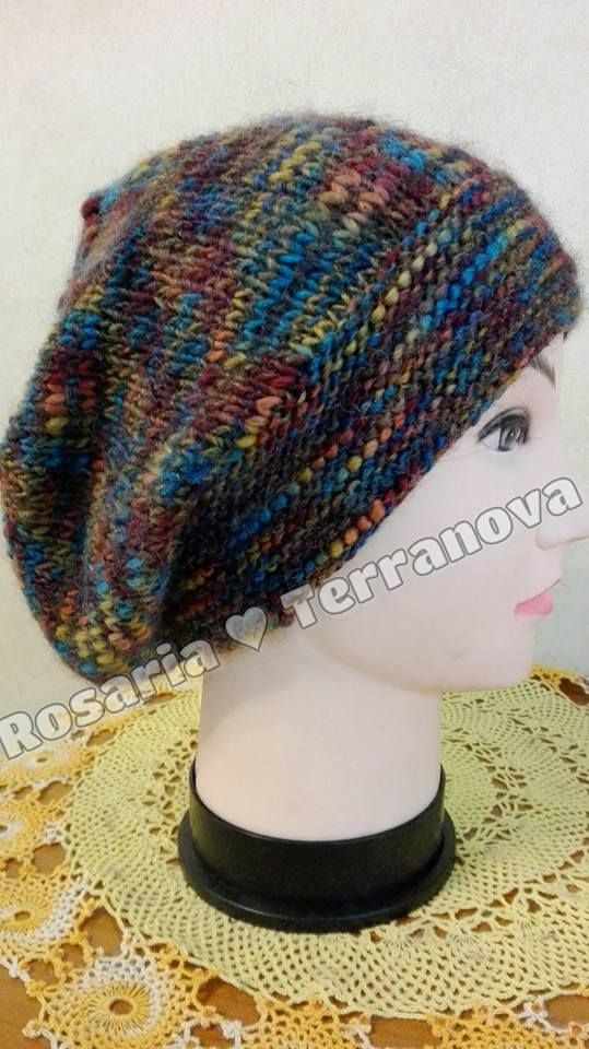 Le passioni di Sara  Tutorial cappello da donna realizzato con i ferri  circolari 00abaf5b7d49