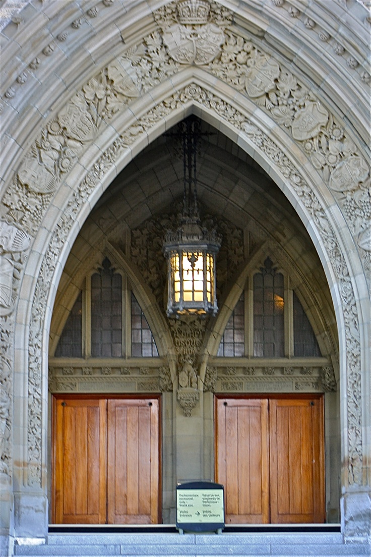 Ottawa - Parliament Building doors