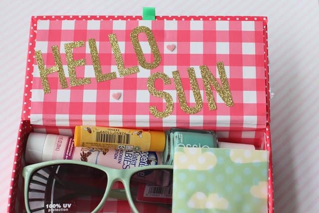 hello sun! fun summer gift package!